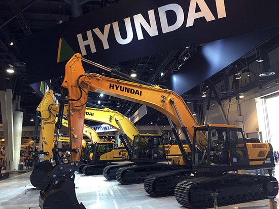 Hyundai Heavy Industries Showcases at CONEXPO 2017