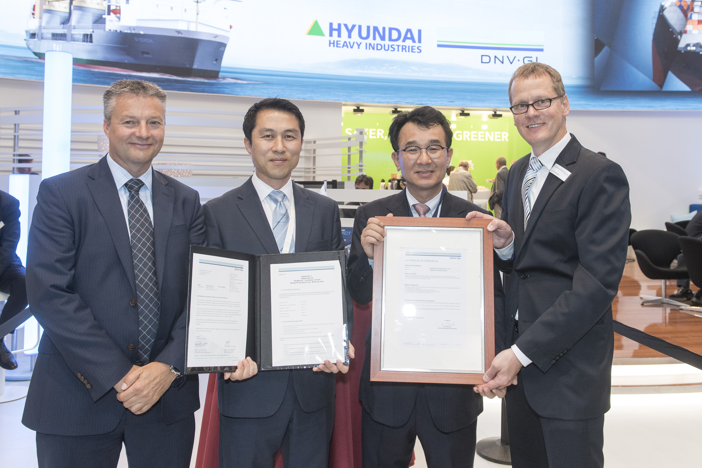 Hyundai Heavy Industries Receives 2nd AIP for SkyBenchTM, Innovative Design Concept for Maximizing Cargo Loading Capacity