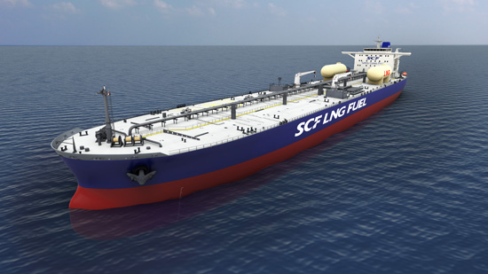 Hyundai Heavy Industries Group Wins USD 240 Million Order for the World's First LNG-fueled Aframax Tankers